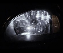 Sidelights LED Pack (xenon white) for Opel Corsa B