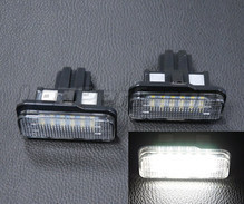 Pack of 2 LEDs modules licence plate for Mercedes SLK R171