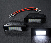 Pack of 2 LEDs modules licence plate for Peugeot 307 phase 2