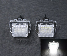 Pack of 2 LEDs modules licence plate for Mercedes C-Class (W204)
