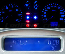 Blue Meter + Display unit LED kit for Renault Clio 2 phase 1
