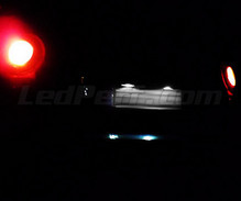 LED Licence plate pack (xenon white) for Renault Modus
