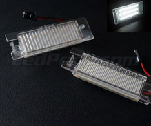 Pack of 2 LEDs modules licence plate for Opel Corsa D