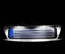 LED Licence plate pack (xenon white) for Citroen C3 I