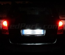 LED Licence plate pack (xenon white) for Toyota Corolla Verso