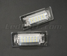 Pack of 2 LEDs modules licence plate VW Audi Seat Skoda (type 7)