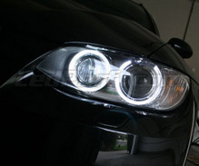 Angel Eyes pack - H8 with LEDs - (pure white 6000K) - for BMW 3 Series (E92 - E93) - Standard