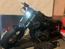 Led HARLEY-DAVIDSON Forty-eight XL 1200 X 2015 Black Tuning
